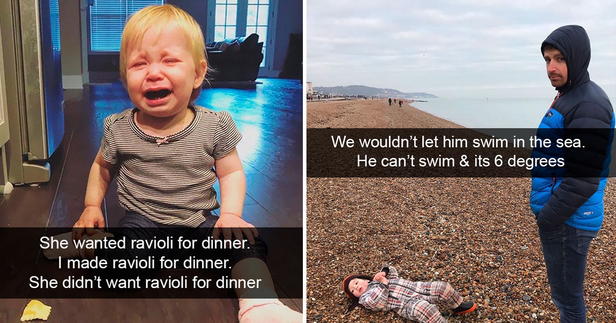 klklk.jpg - Parents Shared Some Amusing And Absurd Reasons Of Why Their Kids Cry And They Can't Help