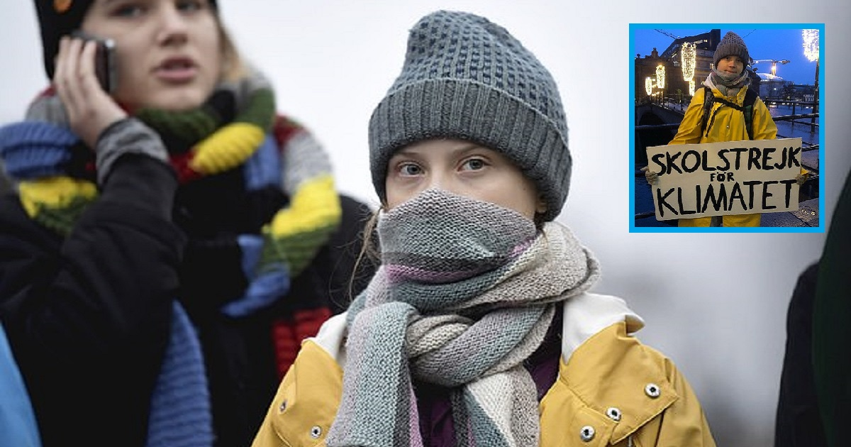 t3 11.jpg - Greta Thunberg Is Back In Sweden And Resumed Her Climate Strike Outside The Country's Parliament
