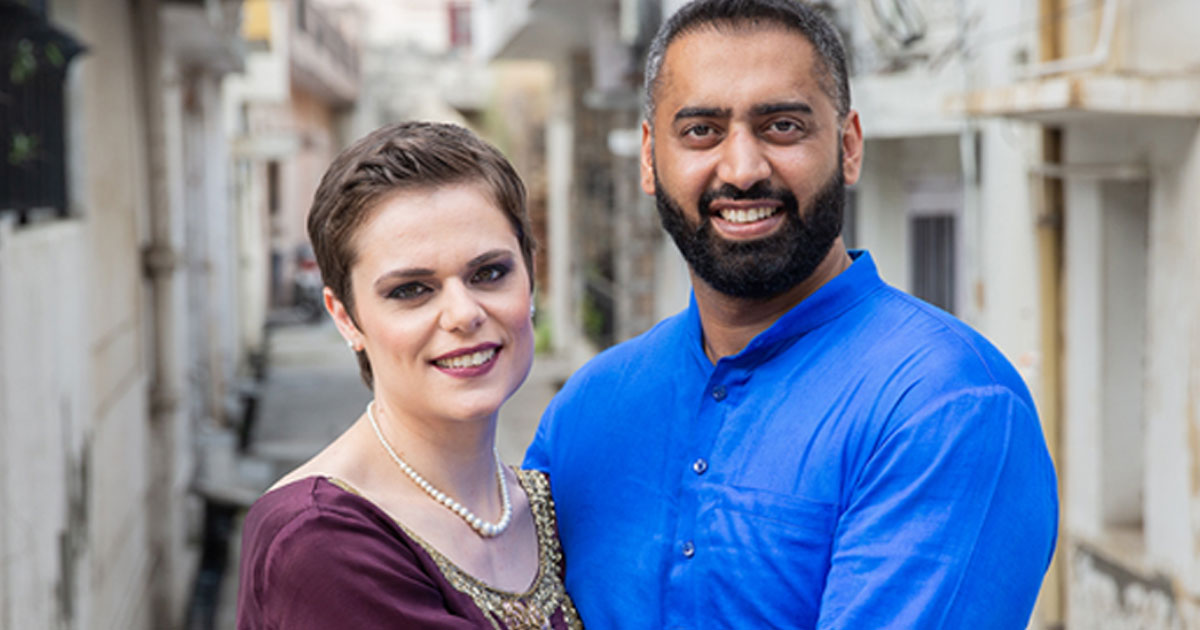 a cross cultural couple shared their experiences of overcoming judgement.jpg - A Couple Stuck By Each Other And Got Married In Just Two Months Despite Family Disapproval