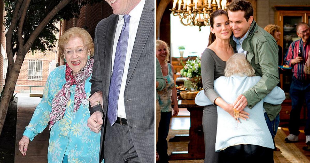 betty5.png - 'Golden Girl' Betty White Celebrated Her 98th Birthday, Ryan Reynolds And Sandra Bullock Reunited To Serenade Her