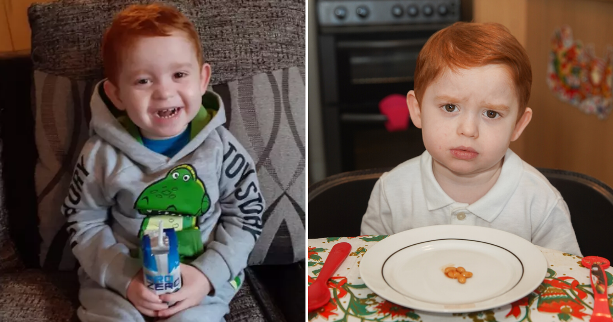 oliver6.png - Little Boy Who Loves Baked Beans Could Lose His Life If He Eats More Than Five A Day
