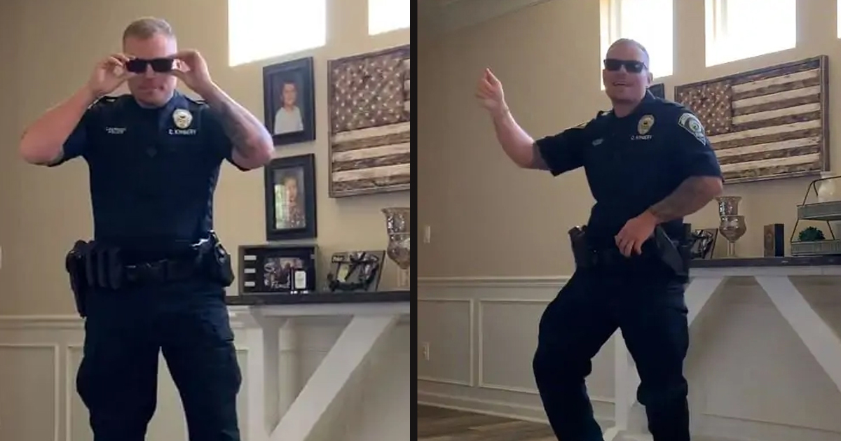 "untitled 3 4.jpg - Police Officer Accepted The ""Git Up"" Challenge And Showed Off His Moves"