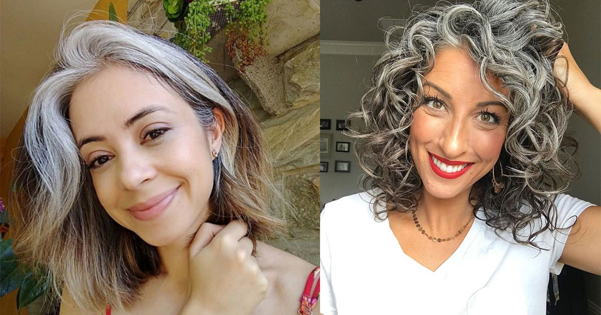 10 women who refused to hide their grey hair as they are brave enough to love themselves.jpg - 10 femmes qui ont refusé de cacher leurs cheveux gris