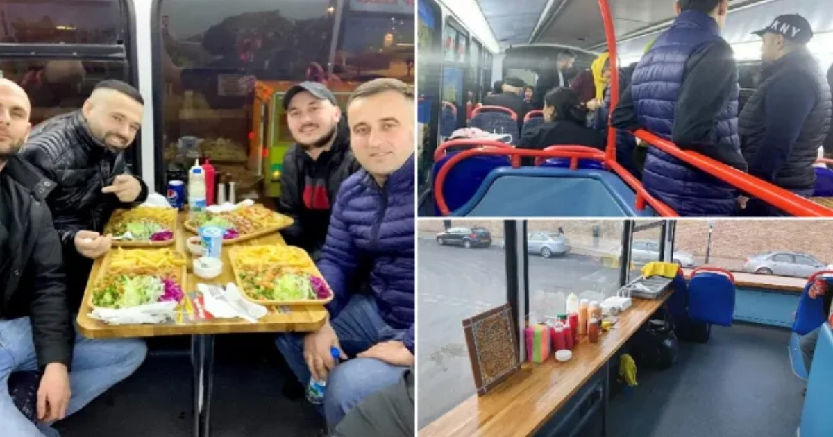 2 116.jpg - A Man Opened A Kebab Restaurant On Board A Double Decker Bus