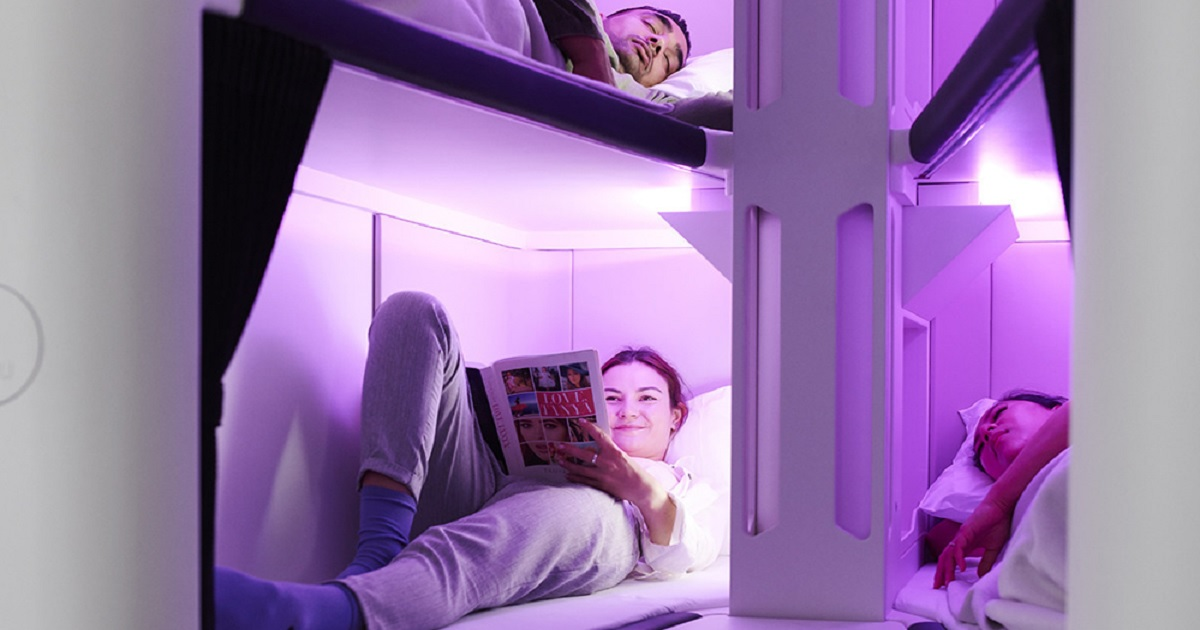 b3 12.jpg - Air New Zealand Is Planning To Offer Bunk Beds For Economy Class Passengers