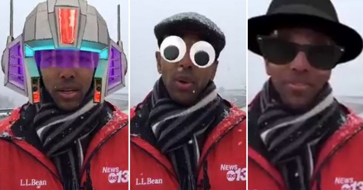 d4 1.jpg - Weather Report Turned Hilarious After The Reporter Accidentally Turned On Face Filters