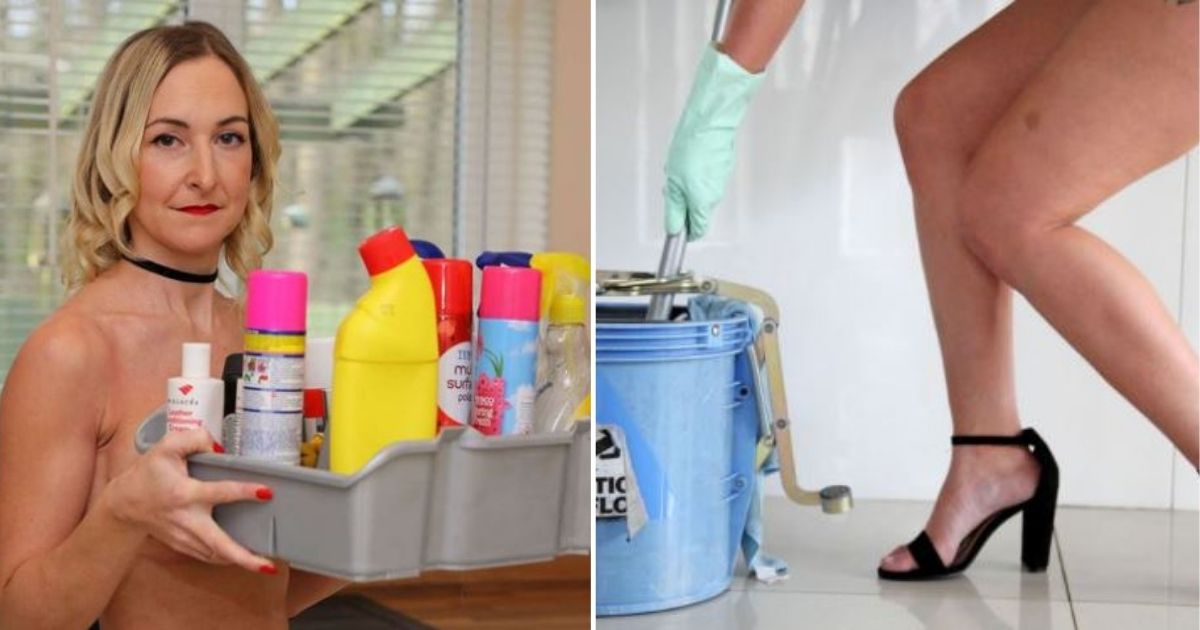 d6.jpg - Mom Makes £95 Per Hour as She Started Her Own Business of Cleaning The Houses Without Clothes