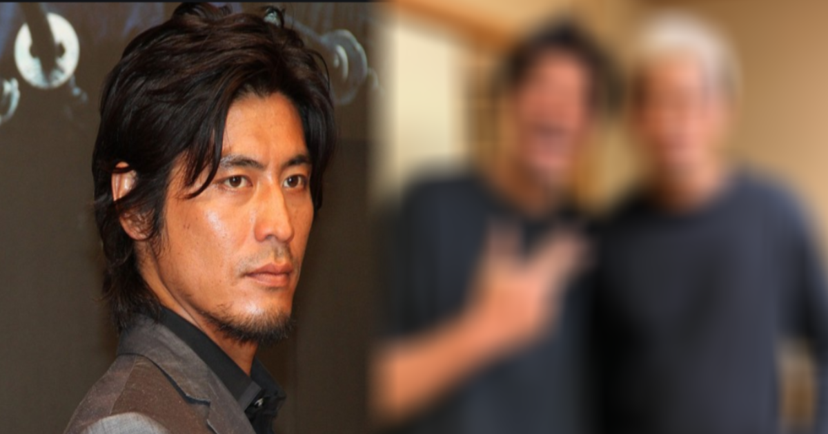 kenji yukio sakaguchi.png - 難病で活動休止中の坂口憲二、兄・征夫との2ショットに「素敵な兄弟」「元気そうで何より」