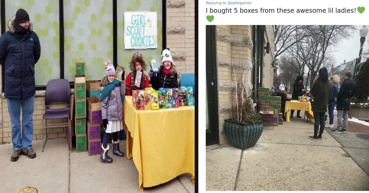 untitled 1 51.jpg - Girl Scouts Sold Hundred Of Cookies After Setting Up A Stall Outside A Cannabis Dispensary In Chicago
