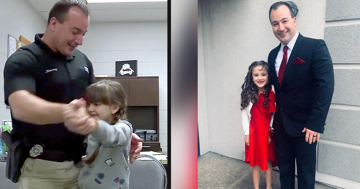untitled 1 89.jpg - Un officier a accompagné une fillette qui venait de perdre son père pour le bal père-fille