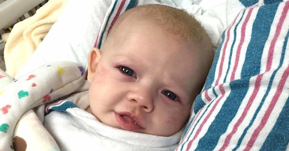 1 223.jpg - Padre Advirte A Otros Sobre Una Enfermedad Mortal Que Puede Confundirse Con Un Resfriado Común En Bebés
