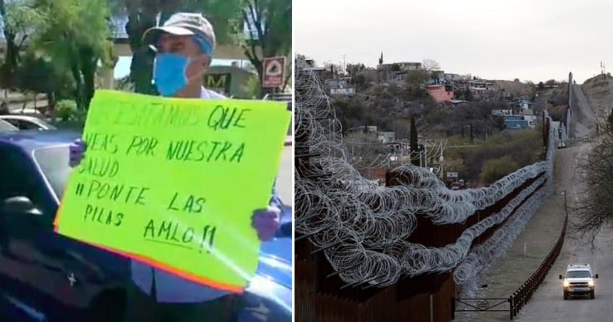 1 80.png - Mexican Protestors Stopped Americans From Crossing The Borders in a Bid to Protect The Spread of Coronavirus