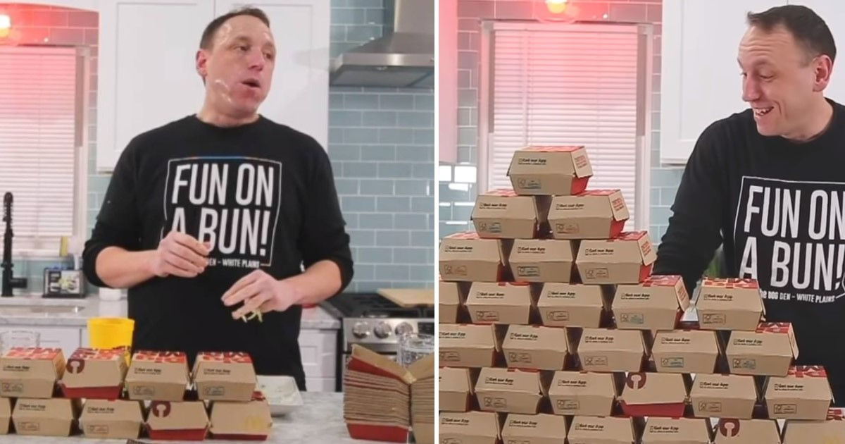 4 35.jpg - Competitive Eater Took Less Than 40 Minutes To Annihilate 32 McDonald's Big Macs