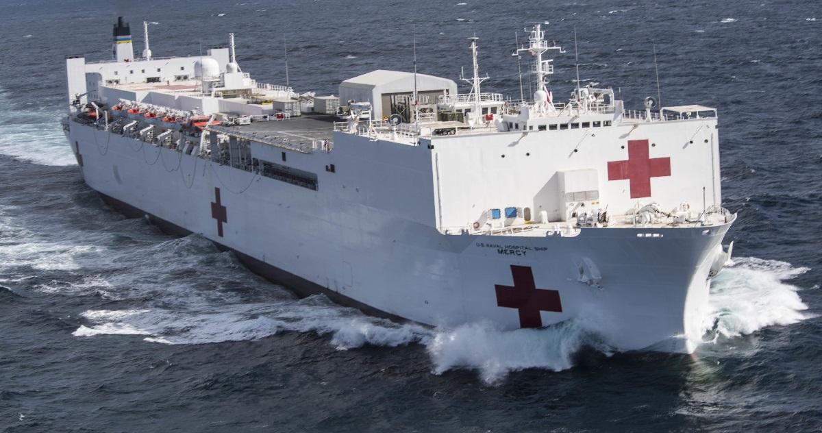 bateau hopital.jpg - Un navire-hôpital de 1000 lits débarque en renfort à New York pour aider à lutter contre coronavirus