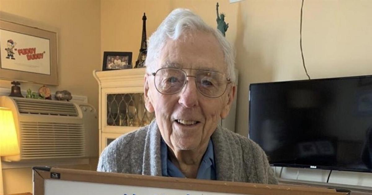 centenaire anniversaire.png - Ce centenaire ne peut pas fêter ses 101 ans à cause du confinement alors il demande 101 000 j'aime comme cadeau d'anniversaire