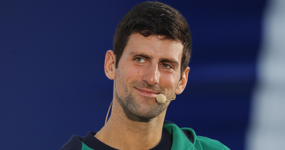 djoko.jpg - Belle action: Novak Djokovic a fait don d'un million d'euros à la Serbie pour lutter contre le Covid-19