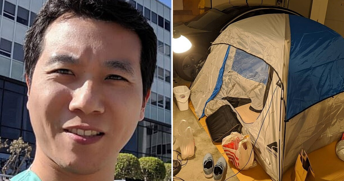 doctor6.png - California Doctor Moved Into A Tent To Protect His Family From COVID-19 While He Treats Patients