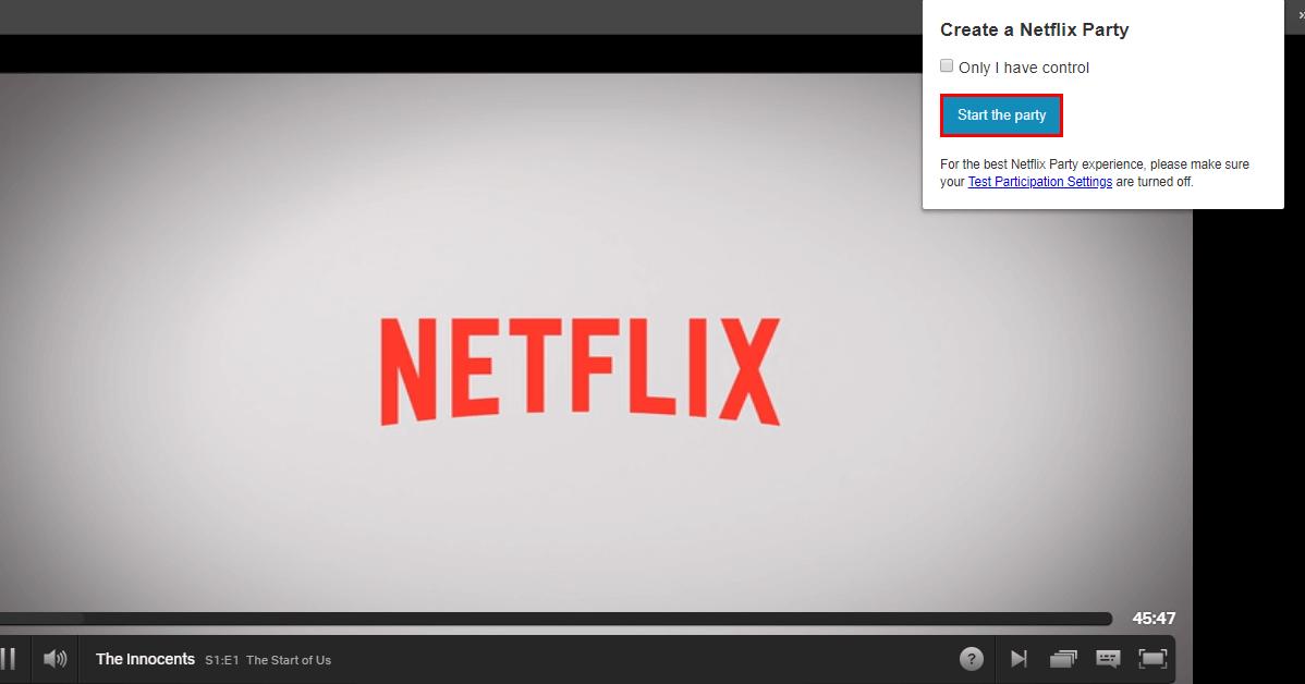 how to watch netflix and chat with friends from netflix e1584551683807.png - Mesures de confinement : Netflix Party permet de regarder à distance un film en même temps que ses amis