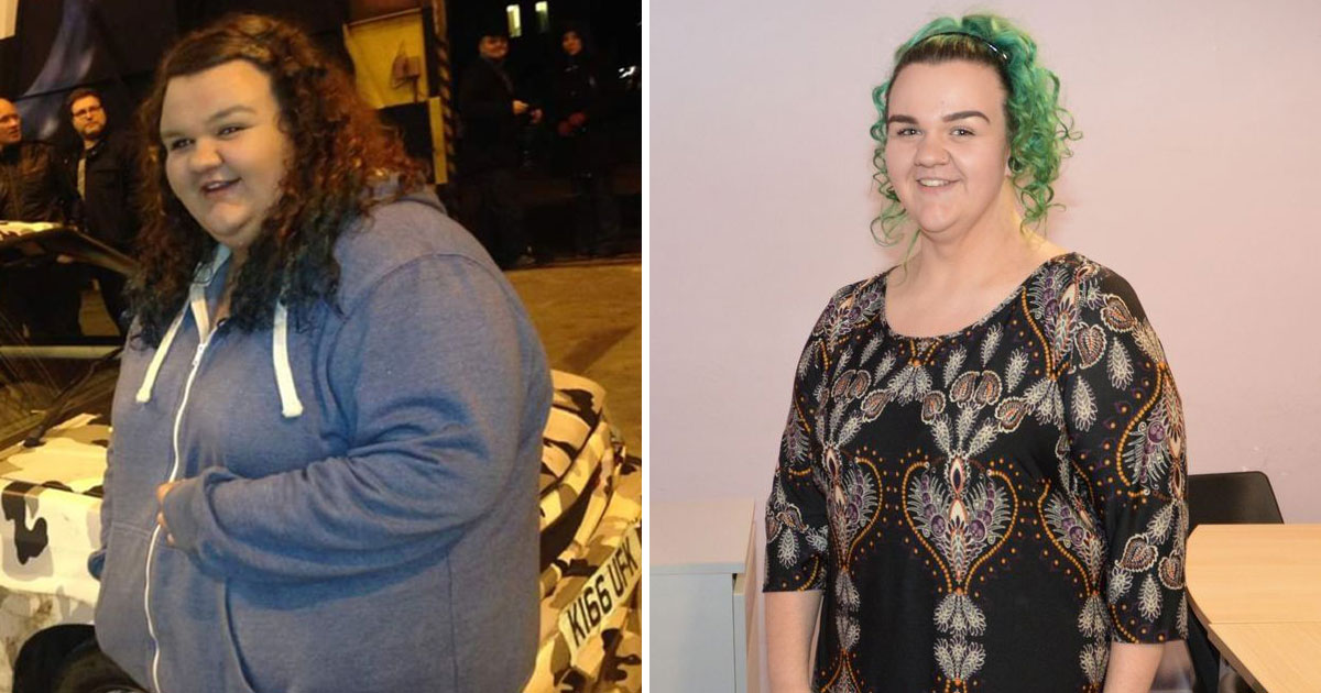 nurse lost weight turned away roller coaster.jpg - 25-Year-Old Lost 16 Stone After She Couldn't Fit On A Roller Coaster During Her Dream Holiday