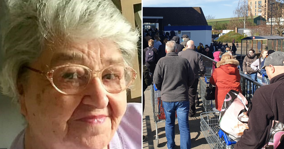 shoppers5.png - Heartbroken Son Begged People To Stay At Home After 87-Year-Old Mother Passed Away From Coronavirus