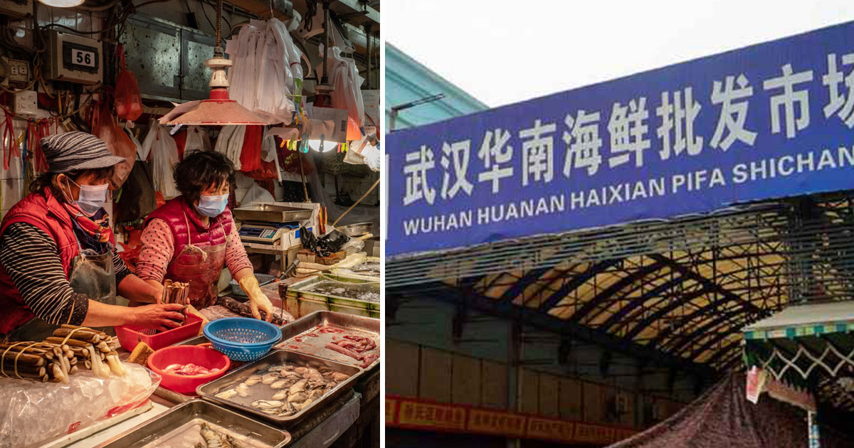 woman selling shrimps first to test coronavirus.jpg - Woman - Who Lives Near Wuhan Food Market And Was Selling Live Shrimps - Was The First To Test Positive For Coronavirus