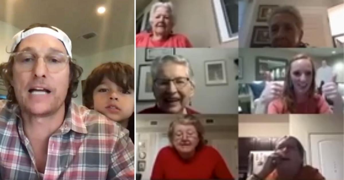 1 24.png - Mathew McConaughey And Family Played Virtual Bingo With Senior Living Home To Make Self-Isolation Fun
