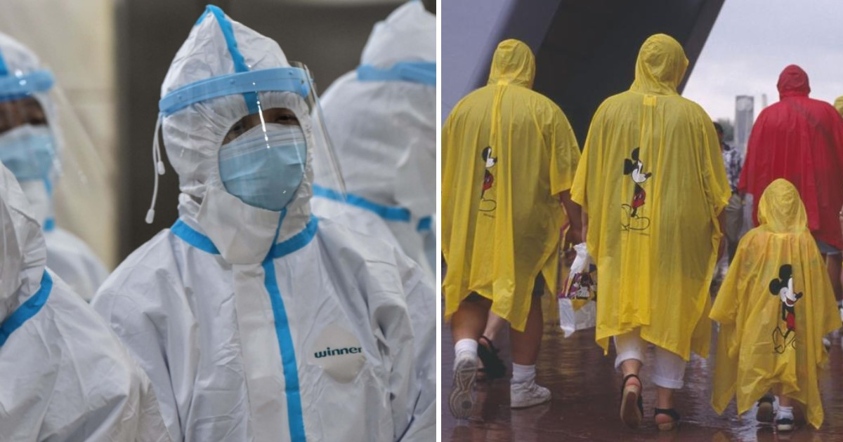3 6.jpg - Disney Parks Donated 150,000 Rain Coats To Use As Personal Protective Equipment For Medics