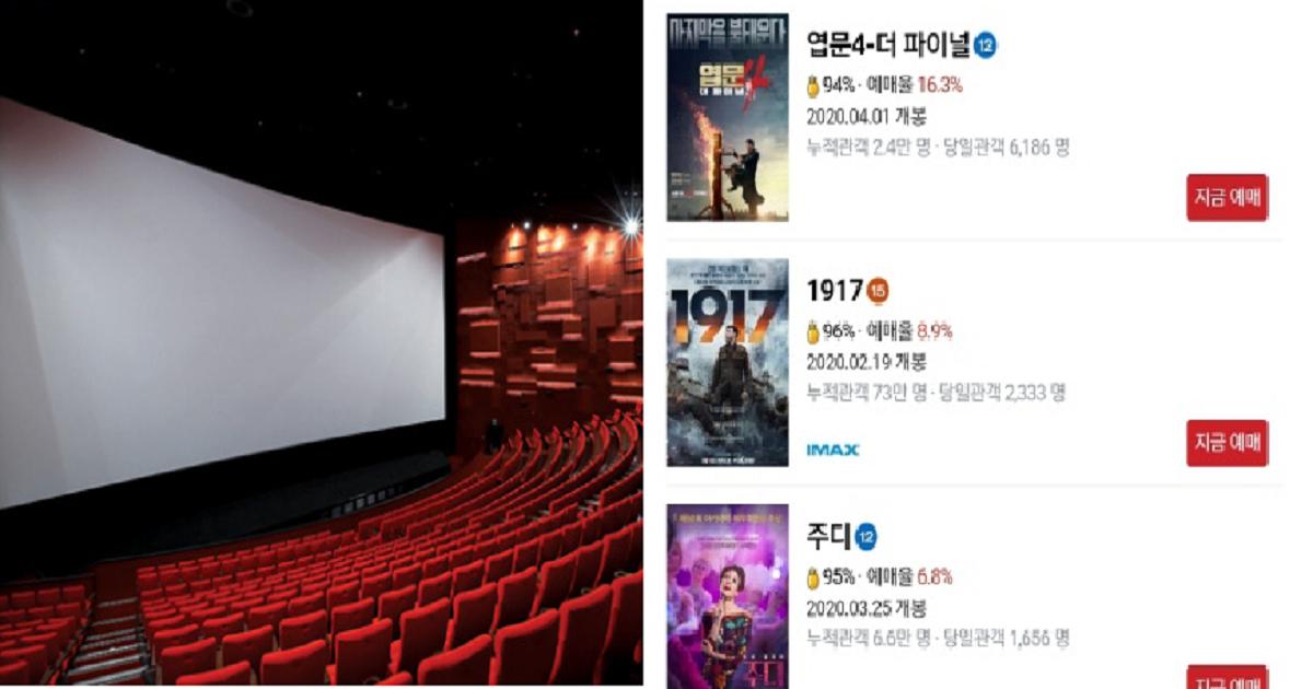 33333 1.png - 현재 초토화된 우리나라 극장 상황