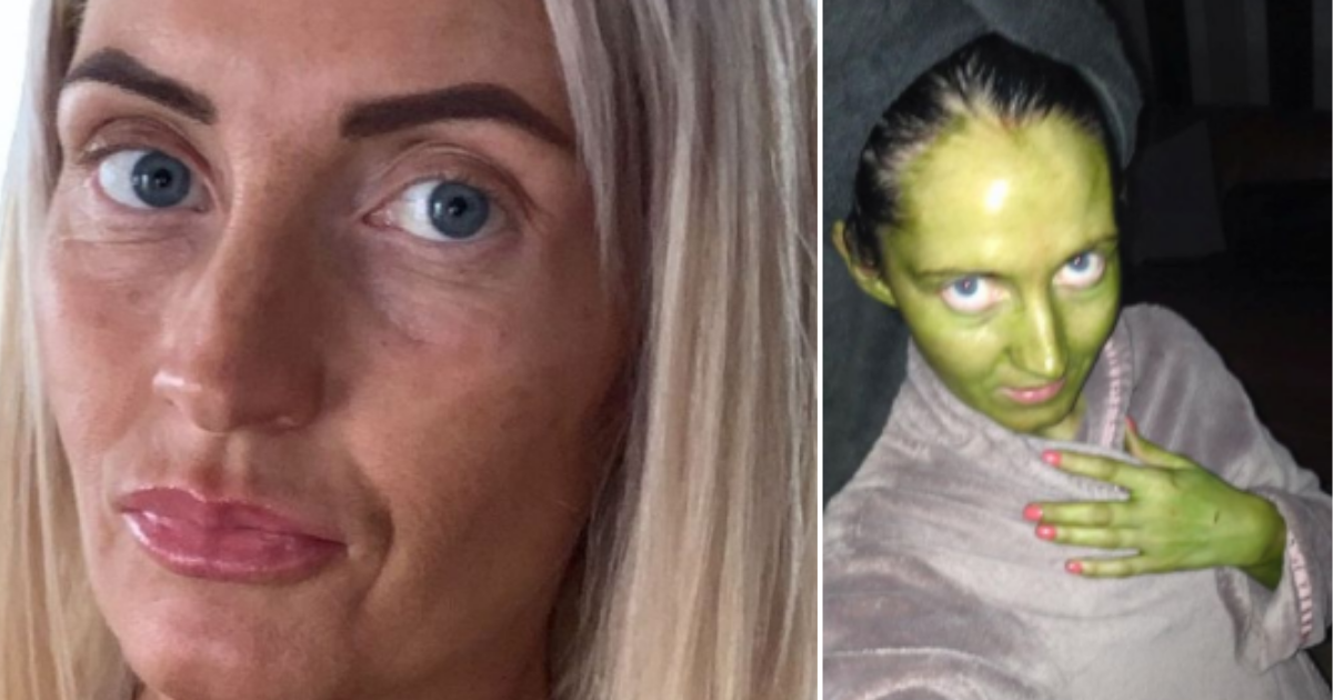 4 2.png - Mom Turns Green After Using Fake Tan on Her Skin