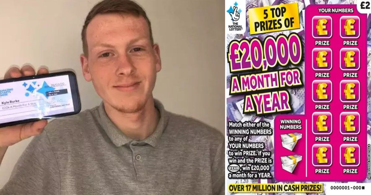 5 2.jpg - Teenager Who Won $296,000 On $2 Scratchcard Can't Spend The Money Anywhere Due To Lockdown
