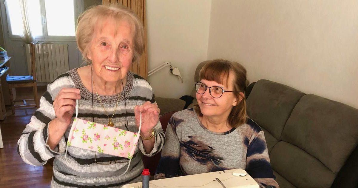 aan5hyeehr7x223npbctzgyovi e1587403125465.jpg - Covid-19  : À bientôt 101 ans, cette ancienne couturière fabrique des masques pour la Croix-Rouge !