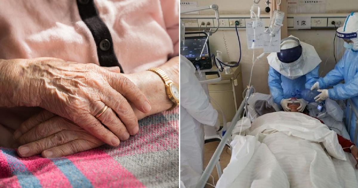 """asfsa 1 2.png - """"부탁이니 젊은 사람에게"""" 인공호흡기 부족에 치료를 거부하고 사망한 90세 할머니"""