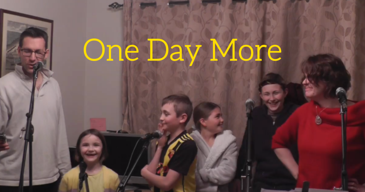 ben5.png - Family Went Viral For Their Brilliant Lockdown Adaptation Of Les Miserables' One Day More