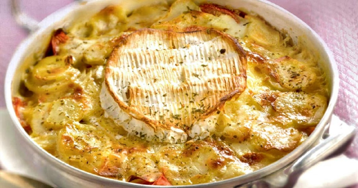 cambembert.jpg - À vos fourneaux: La recette du Camembert rôti au miel et ses pommes de terre