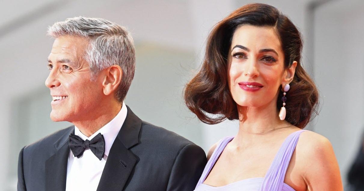 clooney.jpg - Générosité: le couple Clooney a fait un gros chèque pour soutenir la lutte contre le coronavirus