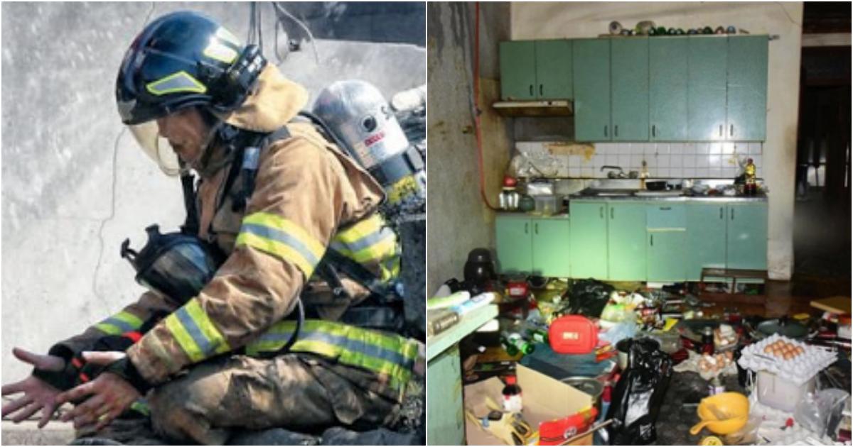 """collage 5.png - """"진짜 소방관이 5분안에 오나 보자""""며 자신의 집에 불 지른  남성"""