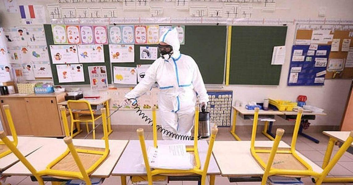 coronavirus ecole e1588059952209.jpeg - Déconfinement: des professeurs proposent d'organiser les cours dehors