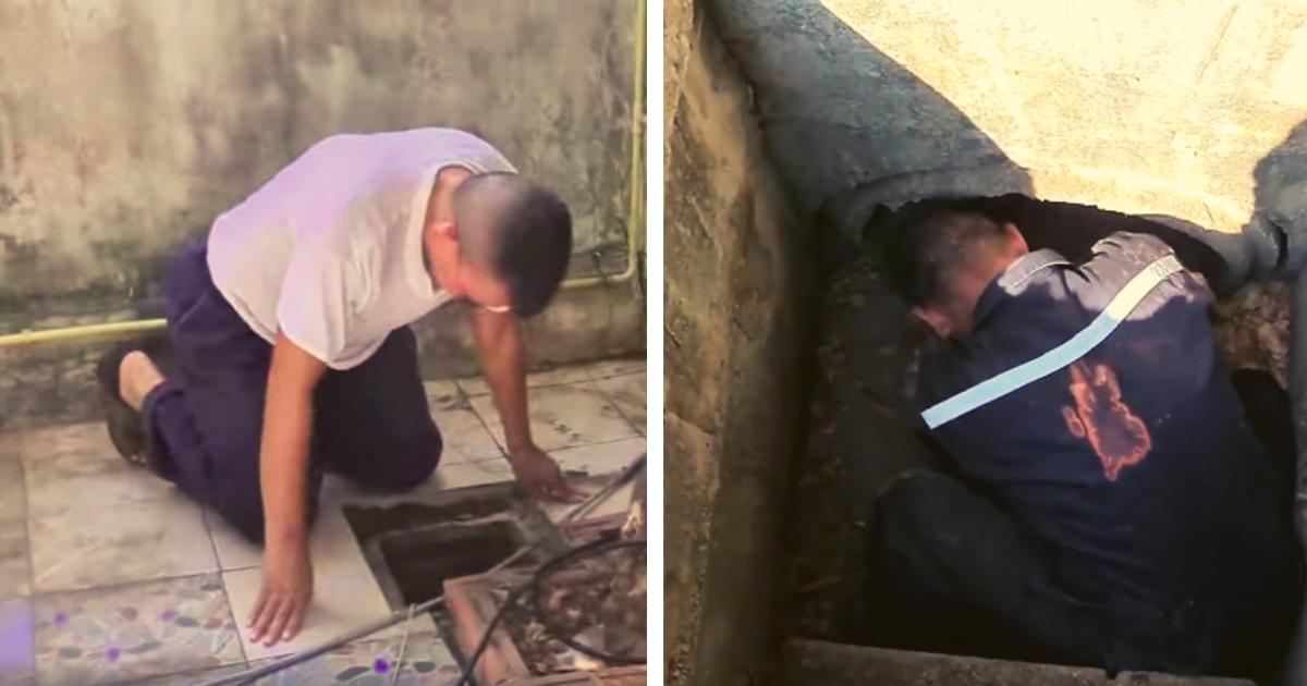 diseno sin titulo 1 30.png - VIDEO: Hombre Escucha Extraño Sonido En Una Alcantarilla Y Consigue A Su Mejor Amigo Atrapado