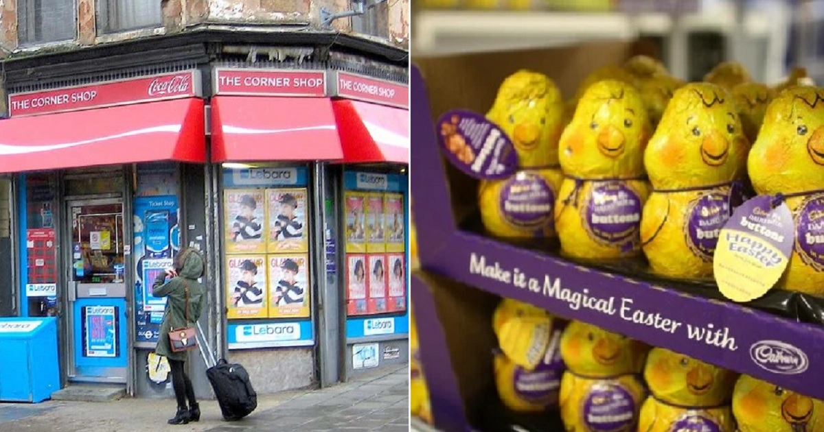 e3.jpg - Few Corner Shops In The UK Were Instructed Not To Sell Easter Eggs Because They're Not Critical Items