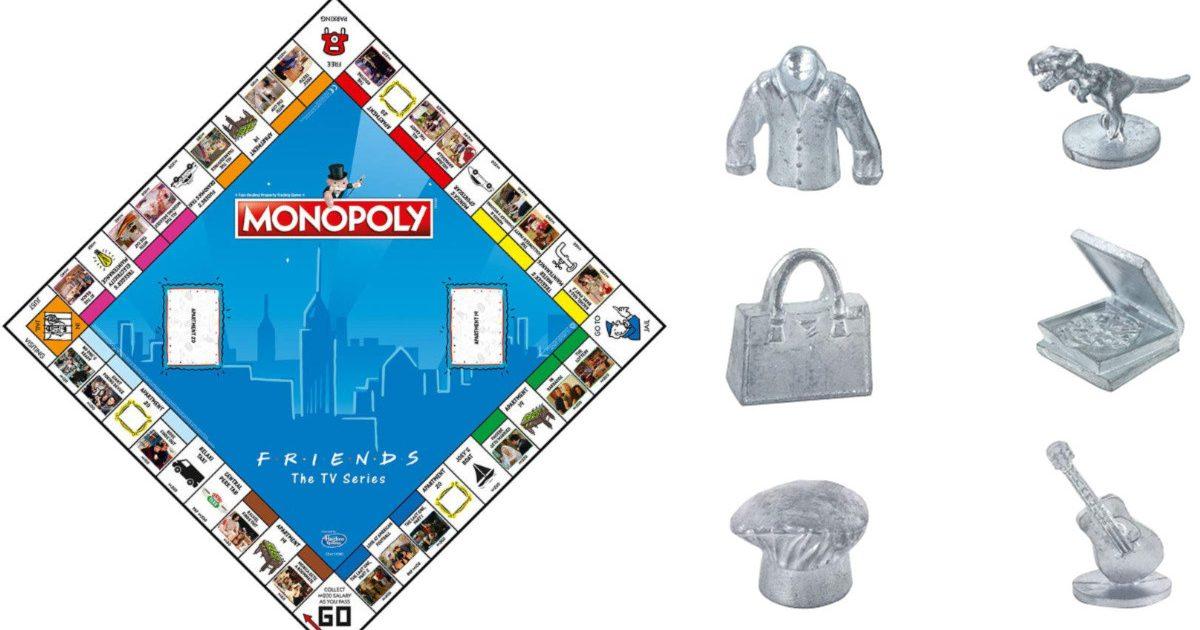 friends monopoly 2 e1585768577388.jpg - Insolite : Le jeu de société culte Monopoly sort une édition spéciale pour les fans de la série Friends