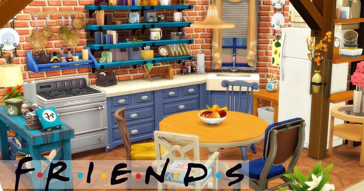 maxresdefault 18 e1587401044240.jpg - Incroyable : La youtubeuse Elliandra a reproduit l'appartement mythique de la série Friends sur les Sims !