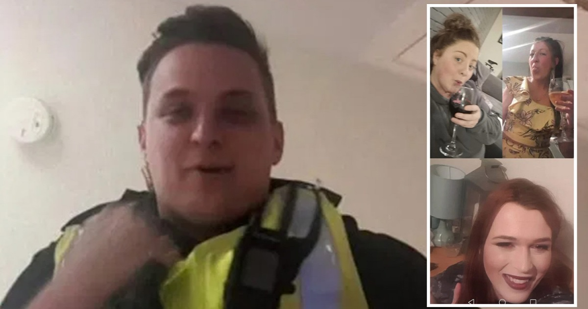 p3.jpg - Cop Showed Up At The Door When An Online Drinks Session Was Mistaken For A Forbidden House Party