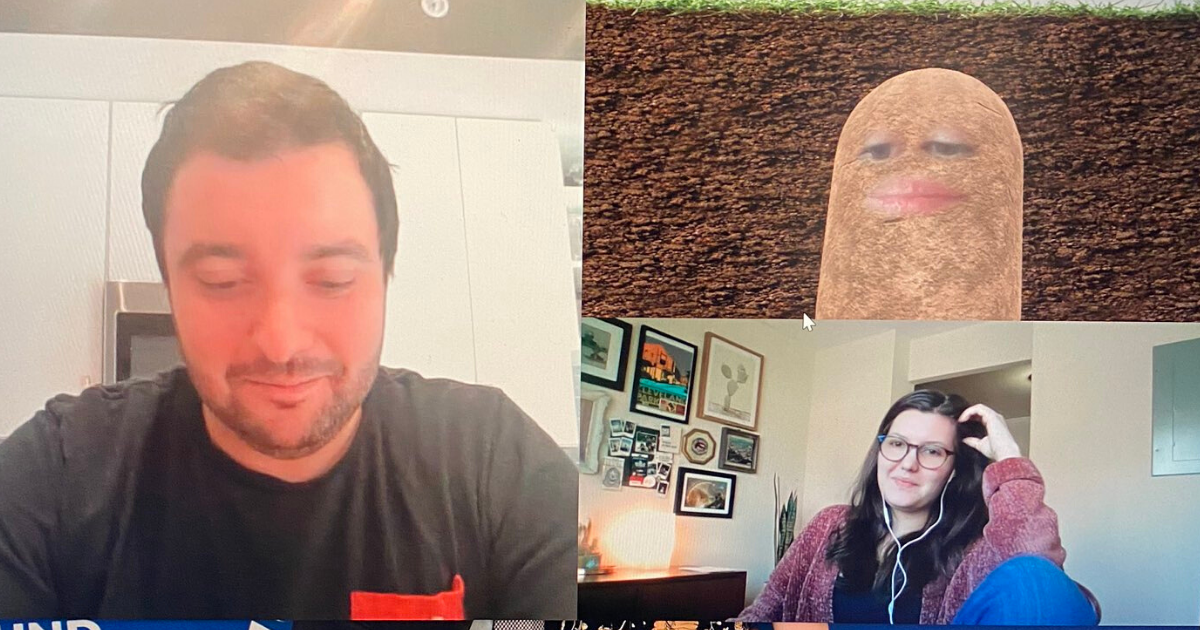 potato5.png - Boss Accidentally Turned Herself Into A Potato During Online Meeting And Couldn't Turn It Off