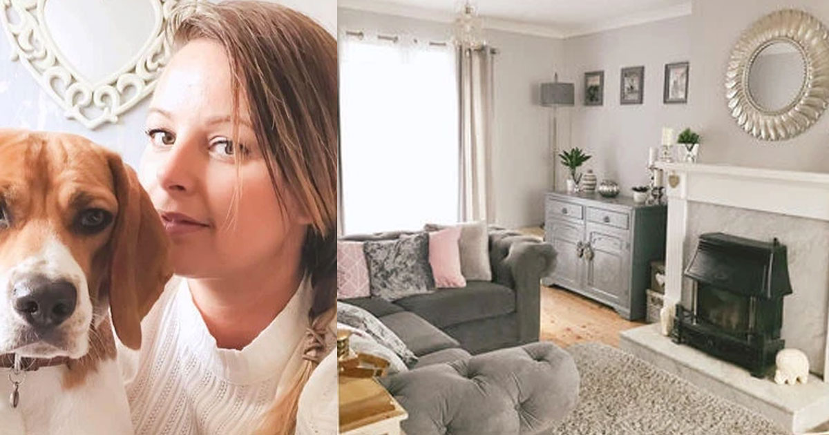 thrifty mum revamped her house for just 300 using shops like bm and home bargains.jpg - A Thrifty Mom Used The Lockdown Time To Revamp Her House For Just $370