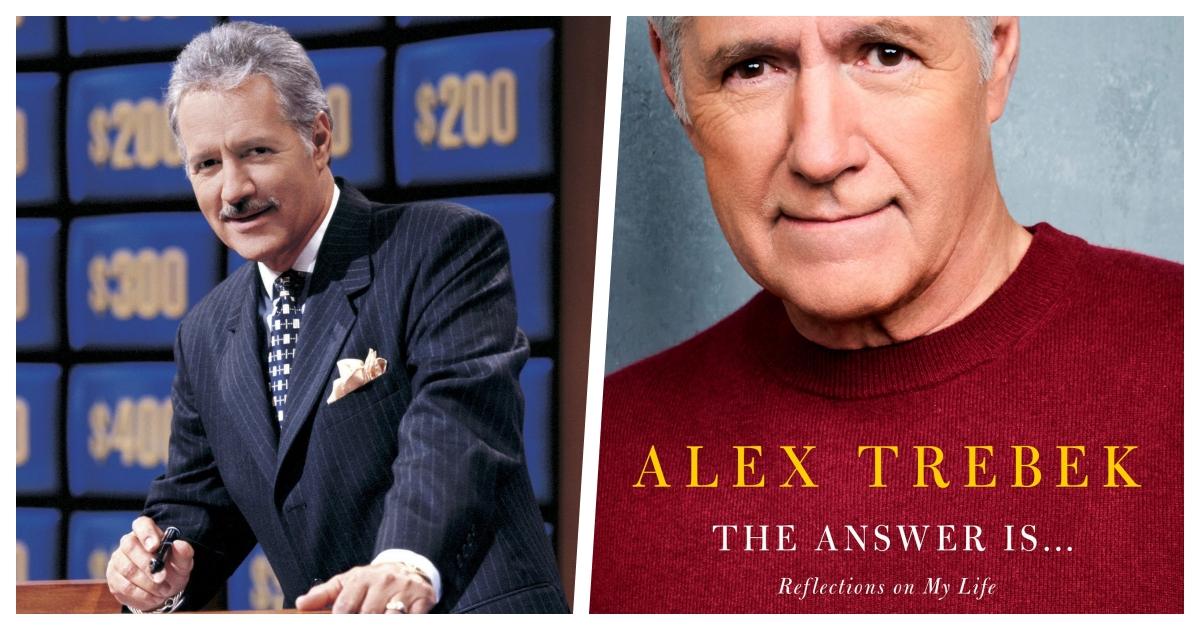 trebek cover.jpg - Alex Trebek Will Be Releasing A New Memoir on July For His 80th Birthday