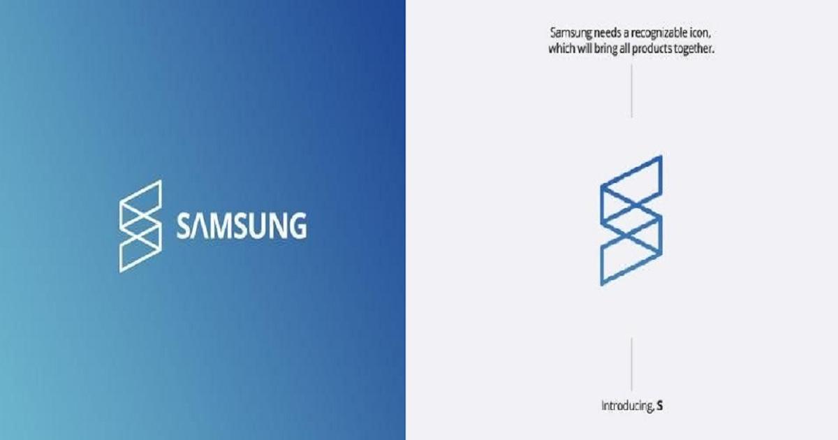 """1111 1.png - """"삼성 로고 이거 어때요?"""" 인터넷에 올라온 해외에서 제작한 '삼성'의 새로운 로고"""