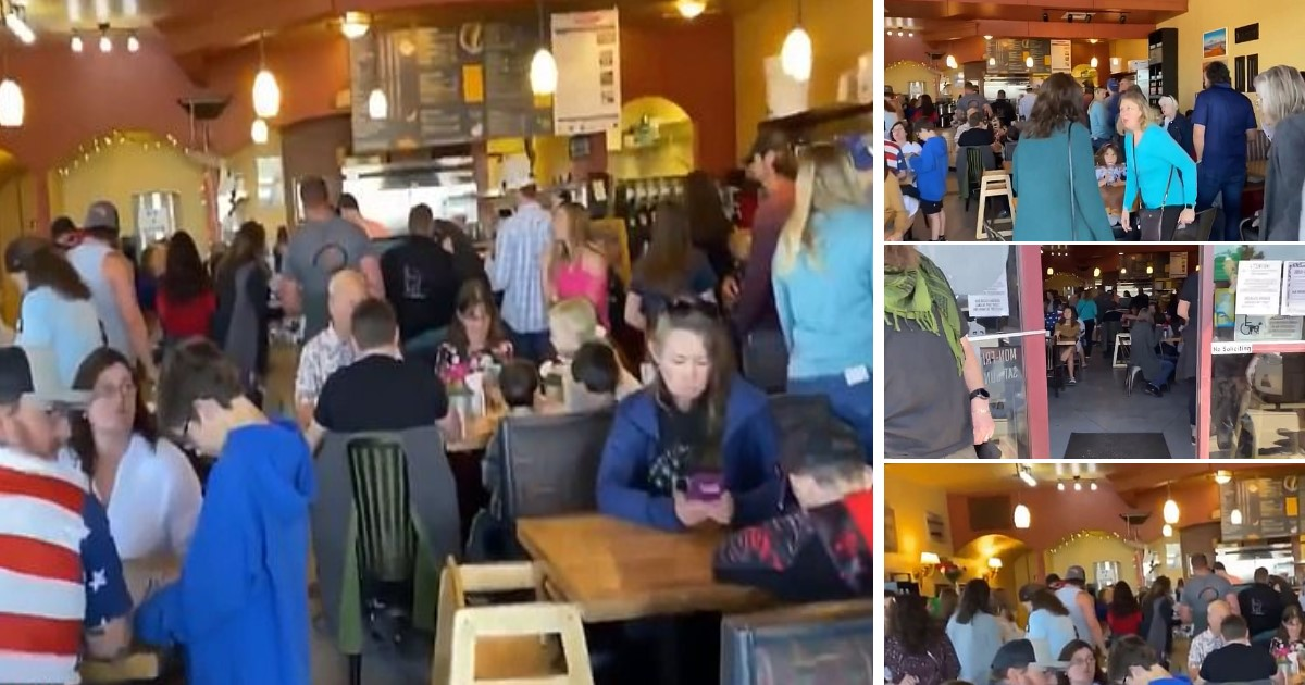 2 52.jpg - Colorado Restaurant Owner Flouted State's Lockdown Order And Boasted About Packed Dining Room On Social Media