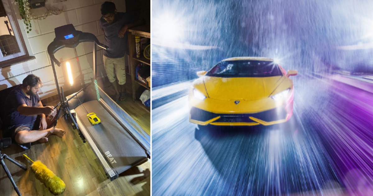 6 2.png - Car Photographer Set Up A Stunning Photoshoot Of A Toy Car After Being Stuck At Home