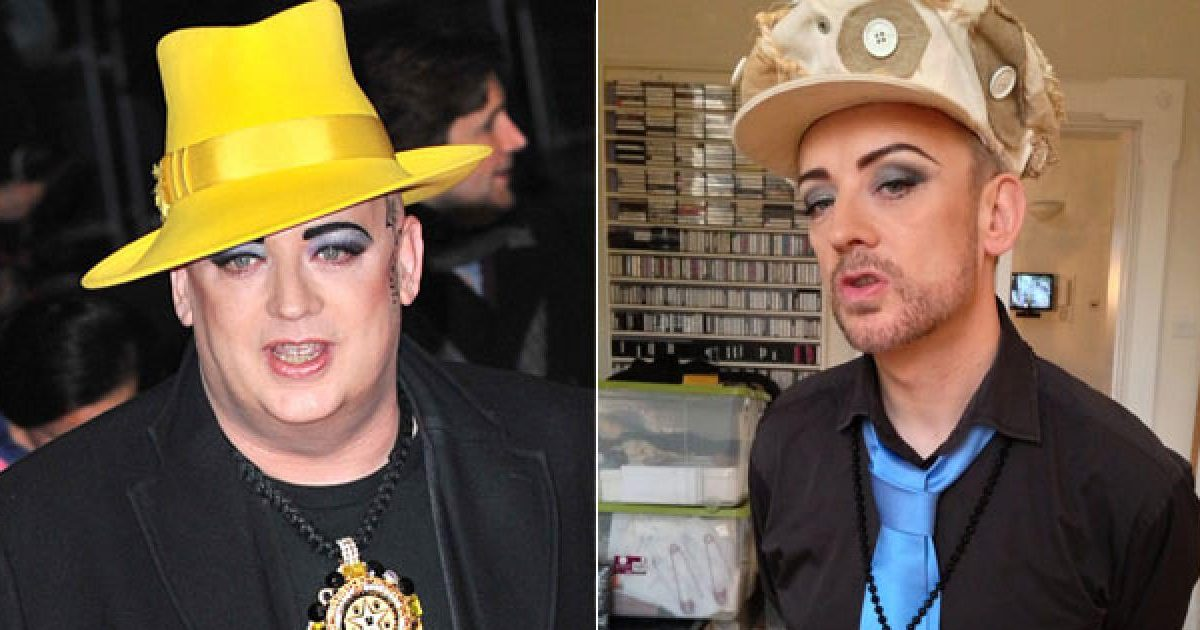 640 boy george weightloss 130218 96192970 e1590514527472.jpg - Incroyable : Pendant le confinement Boy George a perdu 28 kilos