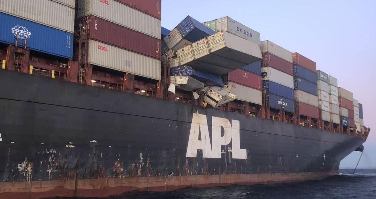 australie.jpg - En Australie un bateau a perdu sa cargaison de masques chirurgicaux